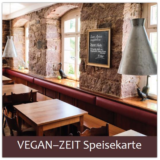 VEGAN-ZEIT-Speisekarte